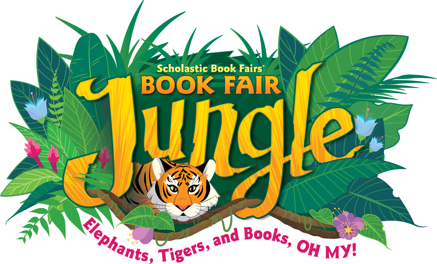 Scholastic Jungle Book Fair! Elephant's, Tiger's, and Books....Oh My!