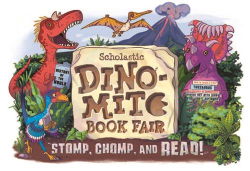 Scholastic Dino-Mite Book Fair