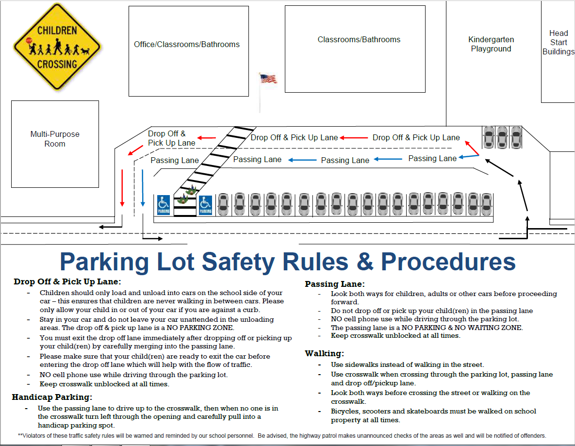 MPICS Parking Lot Safety and Procedures