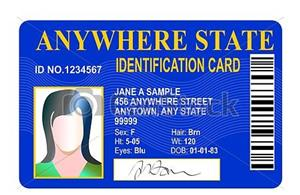generic identification card
