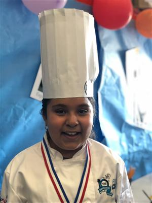 Future chef contestant